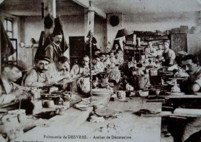 1-atelier grand feu début du XXème siècle
