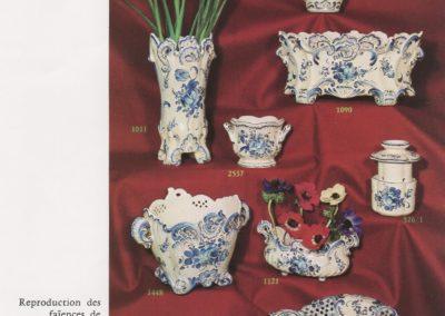 20-Strasbourg décor monochrome bleu d'après P.A Hannong