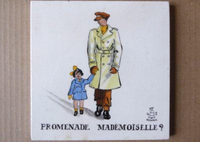 Carreau Promenade Mademoiselle