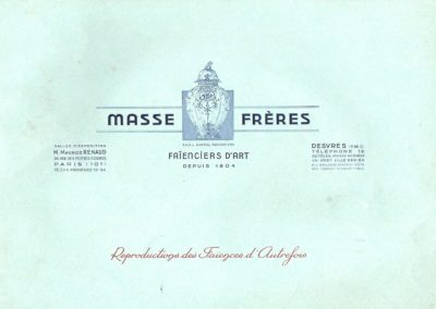 Catalogue Masse 1950