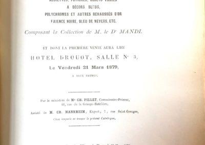 Catalogue Drouot bis