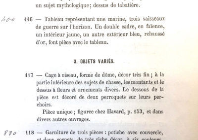 Catalogue Drouot 1879 Vente collection du Dr Mandl