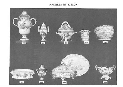 Catalogue Masse 1950 MARSEILLE SCEAUX