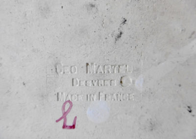 """Cachet """"Géo Martel Desvres"""""""