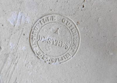 "Cachet ""Neuville-Guilbert à Desvres"""